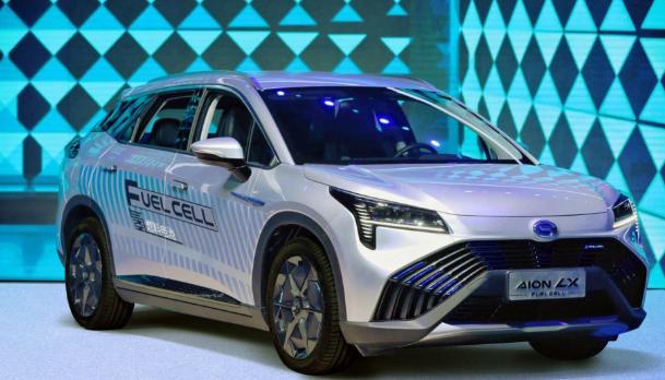广汽氢能源车年内示范运行