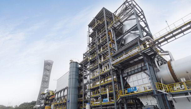 拉斯维加斯3499加快布局绿色环保产业,处置中心二期项目竣工活动成功举行